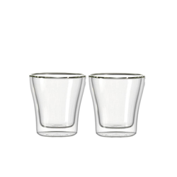 Glas Koch Becher DUO 2-er Set, 250 ml