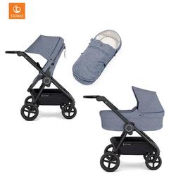 Stokke® Kinderwagen Beat™ inklusive Softtragetasche Blue Melange