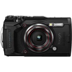 Olympus Tough TG-6 Digitalkamera 12 Megapixel Opt. Zoom: 4 x Schwarz GPS, Stoßfest, Wasserdicht bis