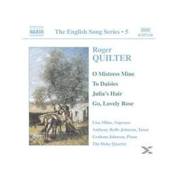 JOHNSON,GRAHAM & JOHNSON,ANTHONY, Milne/Rolfe Johnson/Johnson/+ - English Song Series Vol.5 (CD)