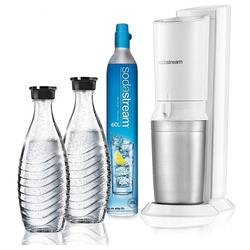 SodaStream Wassersprudler CRYSTAL 2.0 Megapack - Wassersprudler - weiß