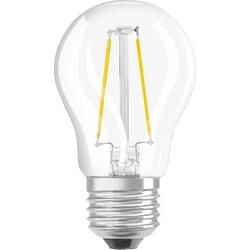 OSRAM LED EEK A+ (A++ - E) E27 Tropfenform 3.30W = 25W Warmweiß (Ø x L) 45mm x 45mm 1St.