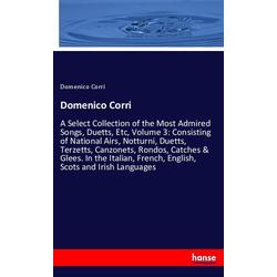 Domenico Corri als Buch von Domenico Corri