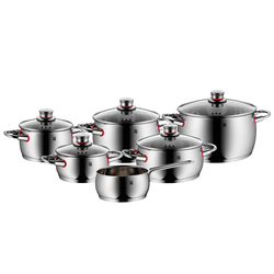 WMF Topfserie QUALITY ONE Topfset 6 teilig COOL+Griffe INDUKTION