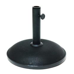 Sonnenschirmständer / Schirmständer 11kg mattschwarz