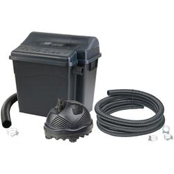 Ubbink Teichfilter FiltraClear 2500 PlusSet (Set), mit UVC-Klärer, für Teiche bis: 2.500 l/h