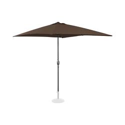 Sonnenschirm groß - braun - rechteckig - 200 x 300 cm