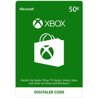 Microsoft Xbox Live Guthabenkarte (50 EUR)