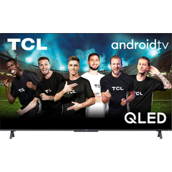 TCL 75C722X1 QLED-Fernseher (190,5 cm/75 Zoll, 4K Ultra HD, Android TV, Smart-TV, und Onkyo-Soundsystem)