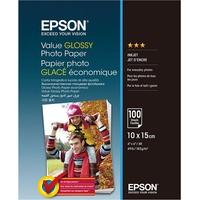 Epson Value Glossy Photo Paper S400039 10x15cm 100 Blatt 183g