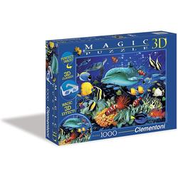 Clementoni® Steckpuzzle Clementoni Magic 3D Puzzle