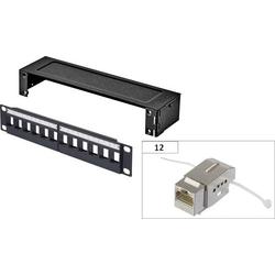Renkforce KSV10 12 Port Netzwerk-Patchbox CAT 6 1 HE