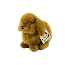 Kösen Kuscheltier Hase Zwergwidder braun 18 cm (Stoffhase Plüschhase Kuschelhase, Stofftiere Hasen Plüschtiere)