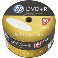 HP DVD+R Rohlinge bedruckbar, 50er Bulk-Pack DVD+R 4,7 GB