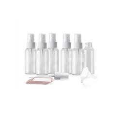 Sayano Sprühflasche 6 x Sprayflaschen zum Befüllen (50ml, Kunststoff)