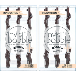 invisibobble Haarklammer Invisibobble Waver Plus, Set, 2-tlg., Pretty Dark