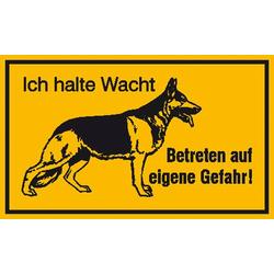 Hinweisschild Schäferhund Aluminium (B x H) 250mm x 150mm 1St.