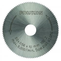 PROXXON 28020 Kreissägeblatt / Sägeblatt aus Spezialstahl 100 Zähne Ø50mm