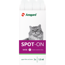 AMIGARD Spot-on Katze 3X1.5 ml