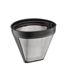 CILIO Dauerfilter Edelstahl Kaffeefilter Größe 1x4
