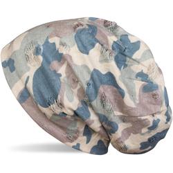 styleBREAKER Beanie Beanie mit Camouflage Muster Beanie mit Camouflage Muster braun