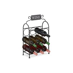 relaxdays Weinregal Weinregal für 9 Flaschen