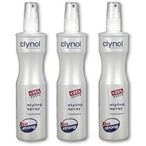 Clynol Frisurenspray Styling Spray Xtra extra strong TRIO (3 x 250 ml)