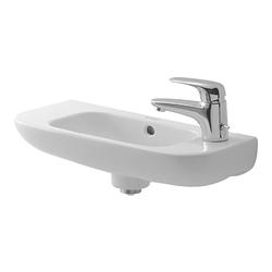Duravit Duravit D-Code Handwaschbecken 500 mm Hahnloch links 070650