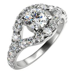 Diamant-Verlobungsring aus Gold Dyll