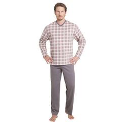 Hajo Pyjama grau 50