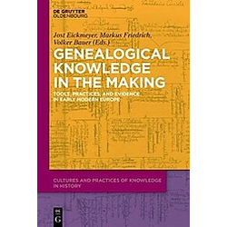 Genealogical Knowledge in the Making - Buch
