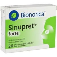 Bionorica SINUPRET forte überzogene Tabletten