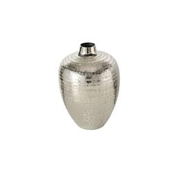 Boltze Vase Detroit in silber, 23 cm