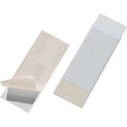 Durable Selbstklebetasche POCKETFIX - 8075 (B x H) 150mm x 60mm Transparent 10 St. 807519