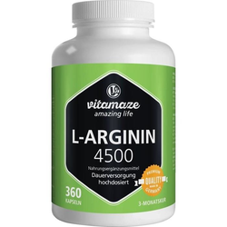 L-Arginin hochdosiert 4.500 mg
