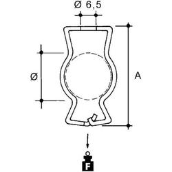 Niedax Rohrbefestigung GM-1219