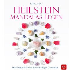 Heilstein-Mandalas legen als Buch von Kiera Fogg