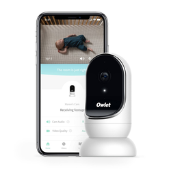 Owlet Cam Smart Baby Monitor - Secure, Encrypted HD Video from Anywhere, with Sound & Motion Notification