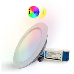 s.LUCE LED Einbaustrahler iLight LED Ø18cm RGB