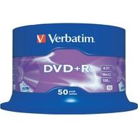 Verbatim DVD+R 4.7GB 16x 50er Spindel (43550)