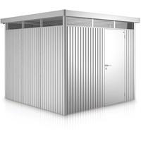 2,75 x 2,75 m silber-metallic Einzeltür