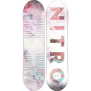 Nitro Unisex Jugend Spirit Kids BRD ́21 Snowboards, Mehrfarbig, 106