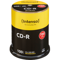 Intenso CD-R 700MB 52x 100er Spindel