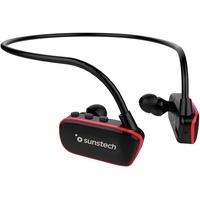 Sunstech Argos MP3 Spieler 8 GB Rot, Schwarz