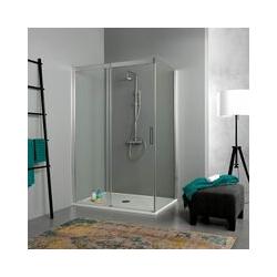 Duschkabine 80 × 120 Mit Schiebetür In 190 Cm Höhe