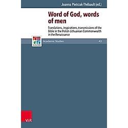 Word of God  words of men - Buch