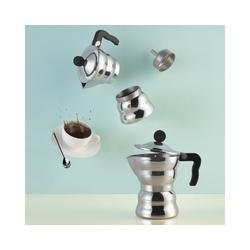 Alessi Espressokocher Espressokocher MOKA Classic 6, 0.3l Kaffeekanne