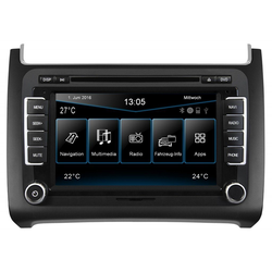 ESX Audio-System (ESX VW Polo 6C (ab 04/2014) 2-DIN Autoradio Navi VN720-VO-P6C-GREY)