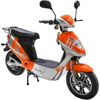 Rolektro eco-City 20 V.2 Plus 500 Watt 20 km/h orange/silber