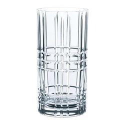 Nachtmann Gläser-Set Square Longdrink 4er Set 445 ml, Kristallglas